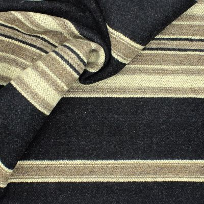 Thick wool with stripes