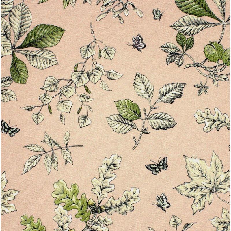 Gevlochten canvas met bloemen en vlinders