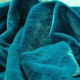 Imitiatiebont met gladde haren - blauw