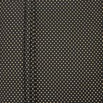 Upholstery fabric with golden dots - black