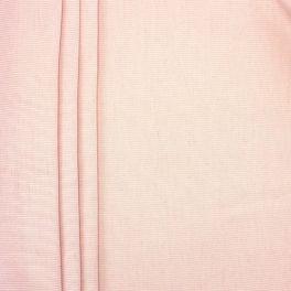Tissu en coton et viscose  reps rose