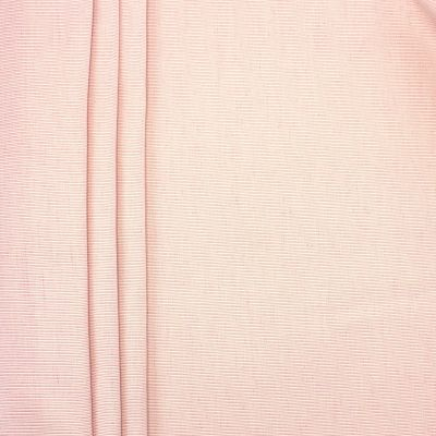 Fabric in cotton and viscose ribbed - pink