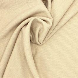 Tissu extensible structuré écru