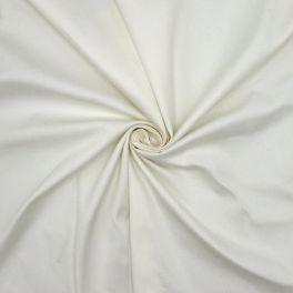 Rekbare stof - gebroken wit
