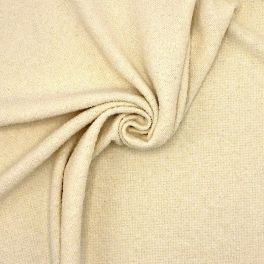 Extensible fabric with curls - cream