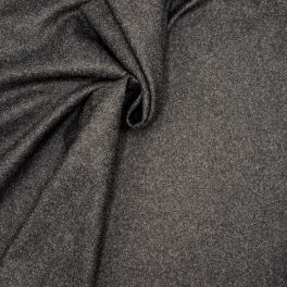 Tissu en laine anthracite