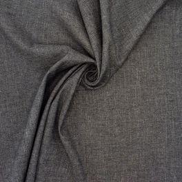 Tissu extensible gris chiné