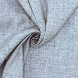 Extensible fabric - mottled blue-grey