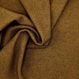 Tissu aspect laine kaki