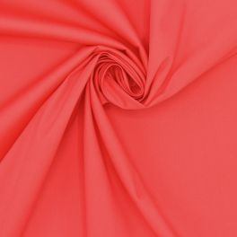 Extensible fabric - coral