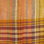Checkerd burlap cloth