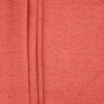 Fabric in linen and cotton with small patterns