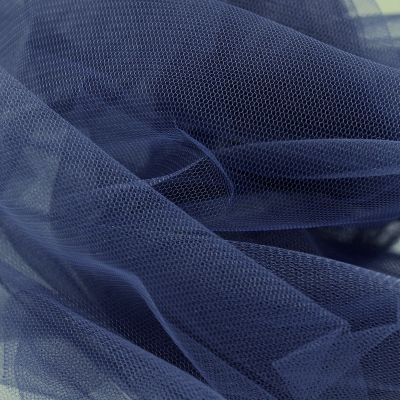 Tule - marineblauw