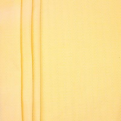 Fabric in cotton and viscose - yellow