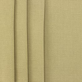 Fabric in cotton and viscose ribbed - yellow
