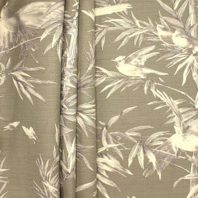 Upholstery fabric printed with birds
