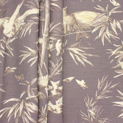 Tissu d'ameublement imprimé bambou