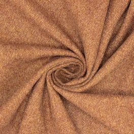 Apparel fabric in polyester - brown