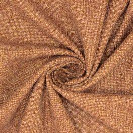 Kledingstof in polyester - bruin
