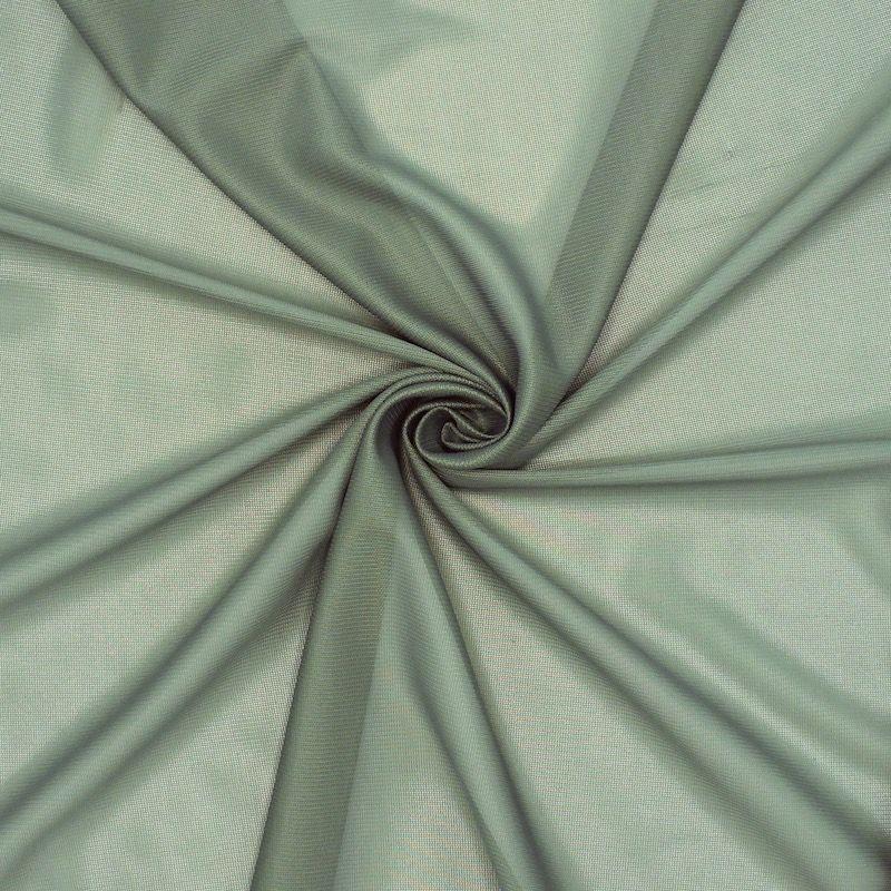 Doublure stretch vert de gris