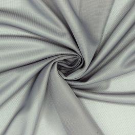Stretch voeringstof - grijs