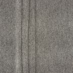 Stof met aspect van dikke linnen - grijs