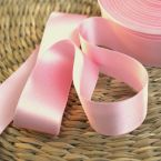 Double-sided satin ribbon pink