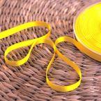 ruban satin jaune canari