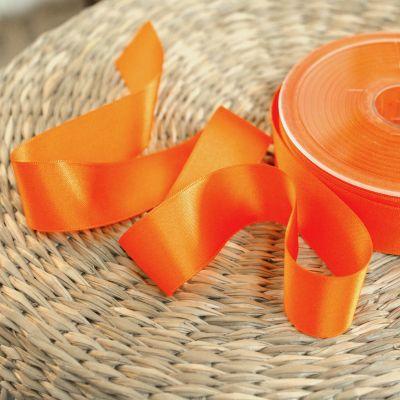 ruban satin orange