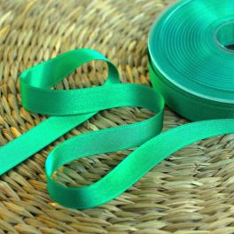 ruban satin vert de malachite