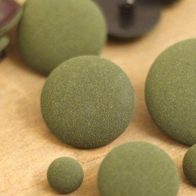 Resin button - veronese green