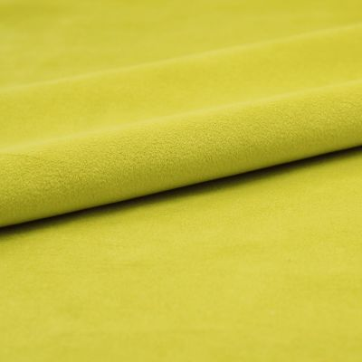Upholstery fabric with velvety feel