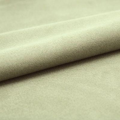 Tissu microfibre kaki imitant le daim