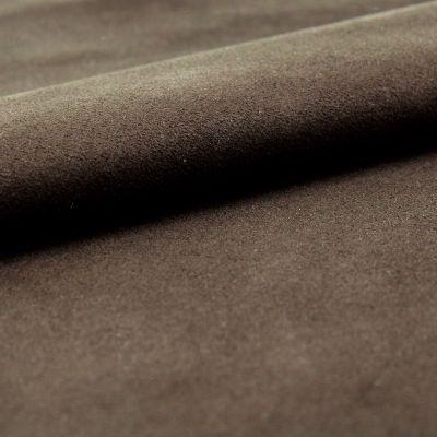 Tissu microfibre marron imitant le daim