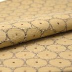 Jacquard fabric with pattern - beige