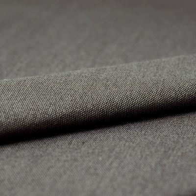 Tissu d'ameublement gris envers molleton