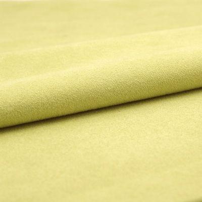 Fabric imitating suede - pistachio green