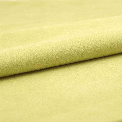 Tissu pistache imitant le daim