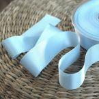 Satin ribbon - sky blue