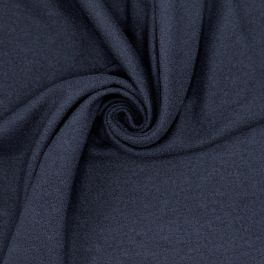 Extensible fabric with boiled wool aspect