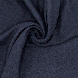 Rekbare stof met gekookt wol aspect