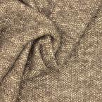 Apparel fabric - taupe and ecru
