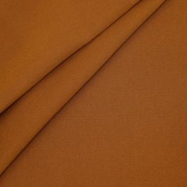 Outdoor fabric in dralon - plain rust