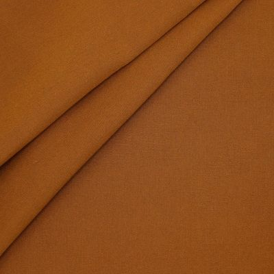 Outdoor fabric in dralon - plain rust