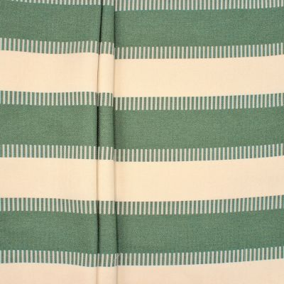 Jacquard upholstery fabric with stripes