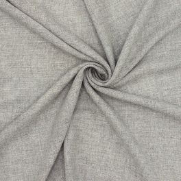 Fabric veil type with silver thread - grey