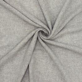 Stof type sluier met zilveren draad - grijs