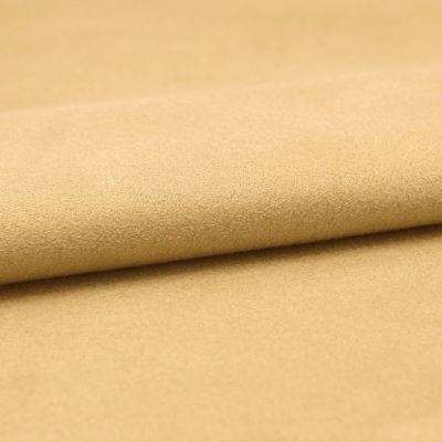 Fabric imitating suede - beige