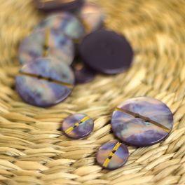 Parelachtig fantasieknoop - violet