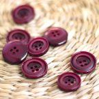 fantasy button - wine red